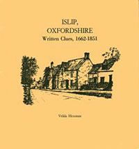 Islip, Oxfordshire Written Clues, 1662-1851
